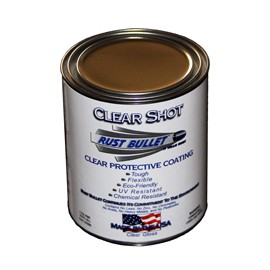 Clear Rust Protective Coating Industrial coating 1 US pint