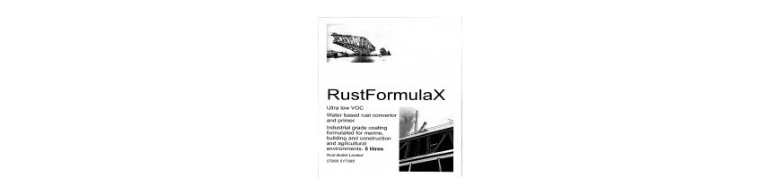 Rust Converter Primer Rust Treatment Corrosion Protection RustFormulaX