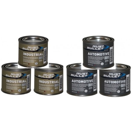 Rust Inhibitive Coating anti rust Paint Combo Pack Rust Bullet Industrial and Auto 6 shooter