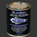 Gloss Black Metal Paint Industrial Grade Protective Coating RB BlackShell 1 Quart(0.946)