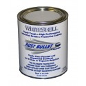 White Gloss Metal Paint Industrial Rust Inhibitive Coating RB WhiteShell 1 Quart (0.946 litres)