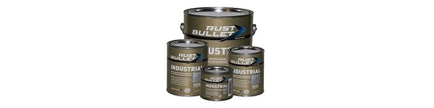 """Rust Bullet Industrial"" Rust treatment paint coating"